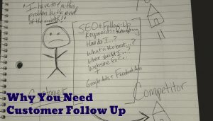 SEO notes on follow up